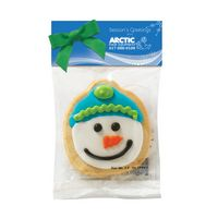 164504154-153 - Decorated Cookie in Header Bag - Snowman Design - thumbnail