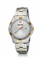 384298688-174 - Platoon Large Silver Dial/ Two-Tone Bracelet Watch - thumbnail