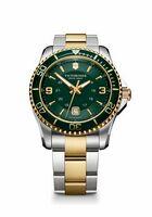 504298923-174 - Maverick Large Green/Gold Dial/ Two-Tone Bracelet Watch - thumbnail