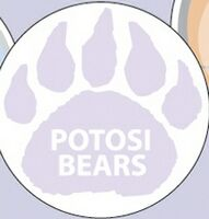 "514035043-183 - Paw Print Stock Art Full Color Dry Erase Decals (8"" Diameter) - thumbnail"