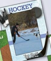 544035558-183 - Sports Hockey Medium Photoframeables Wood Photo Frame Decal - thumbnail