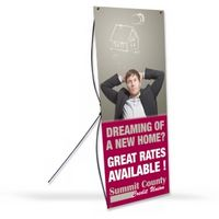 "584294126-183 - X Banner Stand (30""x70"") - thumbnail"