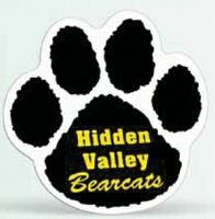 "74565589-183 - Paw Print Magnetic Car Sign (11 1/2""x11 1/2"") - thumbnail"