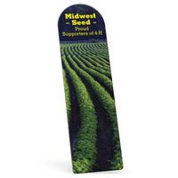 """754675661-183 - Full Color Biodegradable Arch Vinyl Plastic Bookmark without Slit (0.015"""" Thick) - thumbnail"""