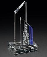 "753930983-182 - Threshold Crystal Award (3""x8""x4"") - thumbnail"