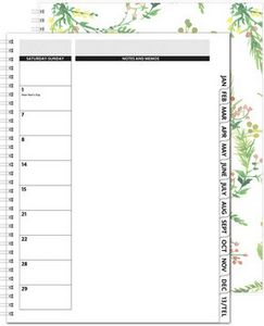 """163318936-197 - TheDirector™ ClearView Monthly Planner w/Chip Back (8.5""""x11"""") - thumbnail"""