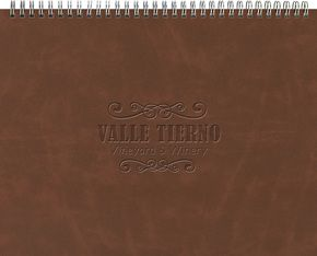 """163321603-197 - The President™ Leather Front Monthly Planner w/ Chip Back (11""""x8.5"""") - thumbnail"""