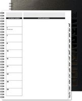 "173769050-197 - TheDirector™ Deluxe Front Monthly Planner w/Chip Back (8.5""x11"") - thumbnail"
