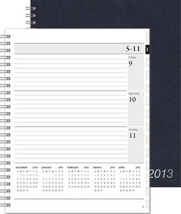 "193318946-197 - XeoPlanner™ Leatherette Organizer (7""x8.75"") - thumbnail"