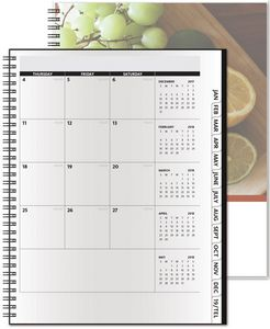 """363318934-197 - TheAnalyst™ ClearView™ Monthly Planner (8.5""""x11"""") - thumbnail"""