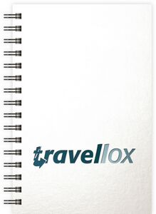 "574061307-197 - GlossMetallic Journals SeminarPad Notebook (5.5""x8.5"") - thumbnail"