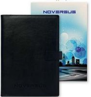 """715587679-197 - Uptown Refillable NoteBook™ w/Full Color Tip-In Page (6.75""""x9"""") - thumbnail"""