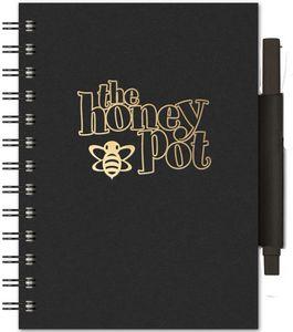 "734061721-197 - EcoBooks EcoNotes NotePad w/EcoPort & Pen (5""x7"") - thumbnail"