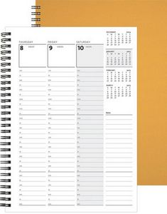 """993769894-197 - WeeklyOrganizer™ w/Deluxe Front & Chip Back (7""""x10"""") - thumbnail"""