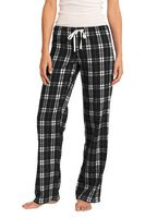 115164444-120 - District® Women's Flannel Plaid Pant - thumbnail