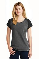 155491228-120 - New Era® Ladies' Heritage Blend Varsity Tee - thumbnail