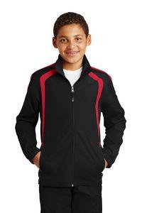 303213370-120 - Sport-Tek® Youth Colorblock Raglan Jacket - thumbnail
