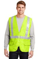 323213513-120 - Cornerstone® ANSI 107 Class 2 Mesh Back Safety Vest - thumbnail