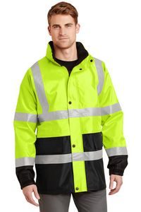 373213568-120 - Cornerstone® ANSI 107 Class 3 Waterproof Parka Jacket - thumbnail