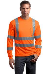 373505618-120 - Cornerstone® ANSI 107 Class 3 Long Sleeve Snag-Resistant Reflective T-Shirt - thumbnail
