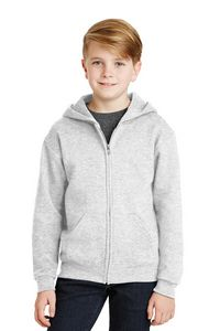 502091816-120 - Jerzees® Youth NuBlend® Full-Zip Hooded Sweatshirt - thumbnail