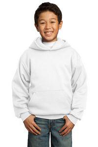 521470626-120 - Port & Company® Youth Core Fleece Pullover Hooded Sweatshirt - thumbnail