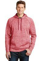 535163891-120 - Sport-Tek® Men's PosiCharge® Electric Heather Fleece Hooded Pullover Sweater - thumbnail