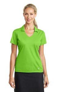 734554044-120 - Nike Golf Ladies Dri-Fit Vertical Mesh Polo Shirt - thumbnail