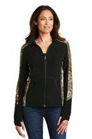 765164691-120 - Port Authority® Ladies' Camouflage Microfleece Full-Zip Jacket - thumbnail