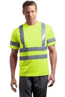 913213443-120 - Cornerstone® ANSI 107 Class 3 Short Sleeve Snag Resistant Reflective T-Shirt - thumbnail