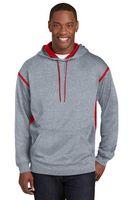 923334590-120 - Sport-Tek® Men's Tech Fleece Colorblock Hooded Sweatshirt - thumbnail