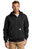 945967545-120 - Carhartt® Rain Defender® Paxton Heavyweight Hooded Zip Mock Sweatshirt - thumbnail