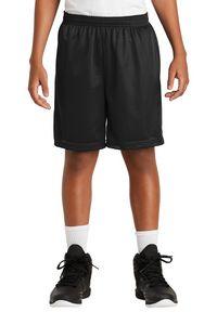 953921279-120 - Sport-Tek® Youth PosiCharge® Classic Mesh Shorts - thumbnail
