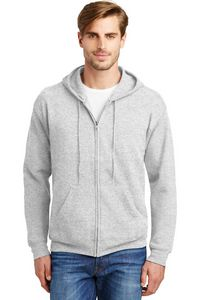 973073789-120 - Hanes® Men's EcoSmart® Full-Zip Hooded Sweatshirt - thumbnail