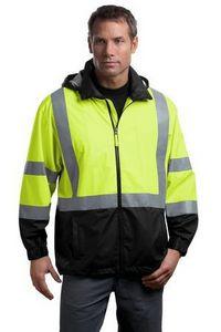 973505612-120 - Cornerstone® ANSI 107 Class 3 Safety Windbreaker Jacket - thumbnail