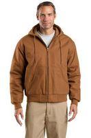 985168590-120 - Cornerstone® Tall Duck Cloth Hooded Work Jacket - thumbnail