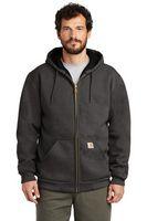985955546-120 - Carhartt® Rain Defender® Rutland Thermal-Lined Hooded Zip-Front Sweatshirt - thumbnail