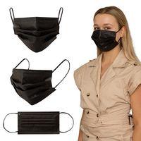 106419493-184 - Shield IV Box of 50pcs Black Disposable Face Masks - thumbnail