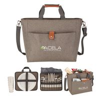 175262177-184 - Del Mar Picnic Set & Cooler Tote - thumbnail