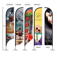 396252610-184 - DisplaySplash 13' Double-Sided Custom Feather Flag - thumbnail