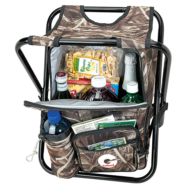 544474123-184 - Greenwood 24-Can Camo Cooler Chair - thumbnail