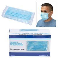 736282495-184 - Shield II Box of 40pcs Individually Bagged Disposable Face Masks - thumbnail