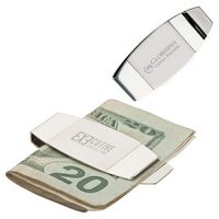 751058191-184 - 2 Tone Curved Money Clip - thumbnail