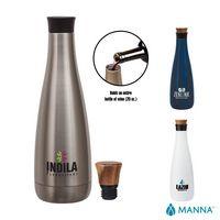 785768938-184 - Manna 25 oz. Carafe Steel Bottle - thumbnail