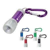 923736530-184 -  LED Flashlight with Carabiner - thumbnail