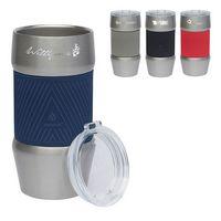 925928698-184 - Manna 20 oz. Renegade Stainless Steel Tumbler w/ Silicone Grip - thumbnail