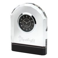 975324747-184 - Pomezia Crystal Desk Clock - thumbnail