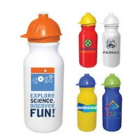 145511647-819 - 20 Oz. Value Cycle Bottle w/ Safety Helmet Push 'n Pull Cap (Full Color Digital) - thumbnail