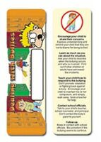 703174979-819 - Dealing w/ Bullies Stock Full Color Digital Printed Bookmark - thumbnail