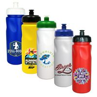 706346736-819 - 24 oz. Cycle Bottle with Push 'N Pull Cap, Full Color Digital - thumbnail
